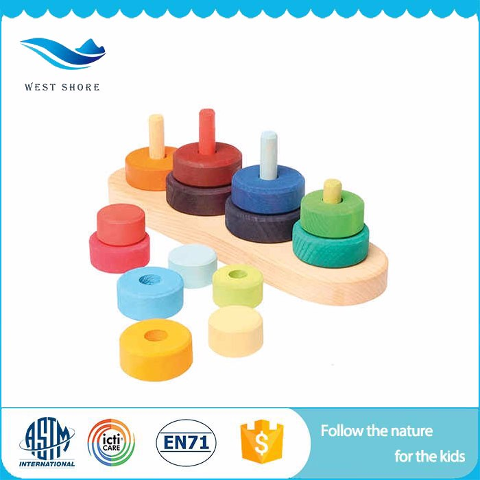 West Shore montessori certification images small gifts for kids stacking blocks toy