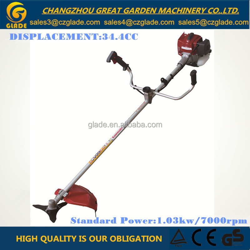 28mm Pipe Diameter Straight Shaft Gasoline Brush Cutter Parts Garden Tools 34.4cc Grass Trimmer Spare Parts