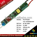 HG-PF2226 non-isolatedpower LED Fluorescent lamp driver 9-18W