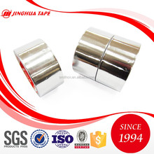 Silver Aluminum foil tape offers permanent sealing