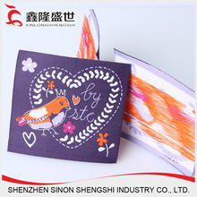 Hot sales damask woven label Product