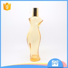 A2526-75ML sexy and transparent women shaped perfume bottle factory price
