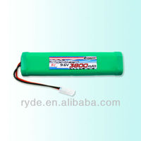 Good Quality Fair Price NiMH SC 3800mAh 9.6V Rechargable Battery for Airsoft Guns