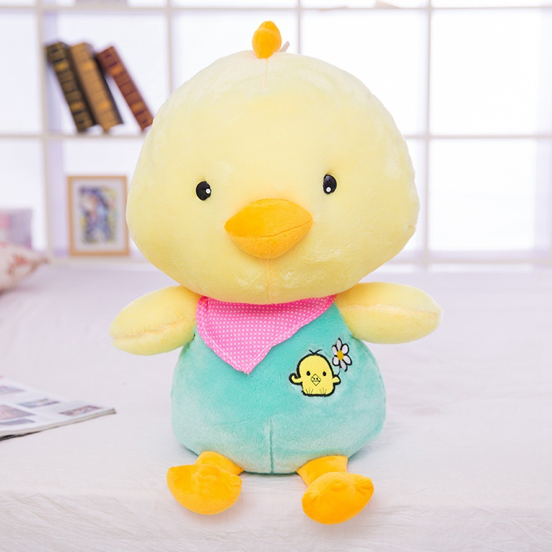 Newest 30cm children soft chicken stuffed toys for christmas 2016