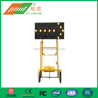 Special guide brand construction vehicles solar traffic board