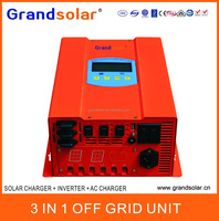 300W SOLAR CHARGER INVERTER AC CHARNGER 3 IN 1 OFF GRID UNIT SOLAR POWER SYSTEM