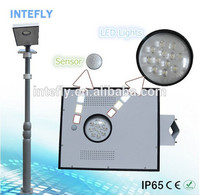 Intefly newest high power led street light use solar panel