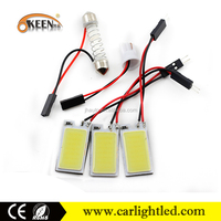 12v led light panel 36 smd led interior bulb car led t10 cob panel roof top lights reading lamp for car