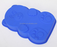 cake048 wholesale 26*16*cm big bear shape silicone chocolate mold cake mould ice cookie mold bakeware