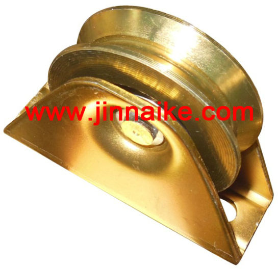 steel pulley, Y groove bearing pulley, sliding gate pulley