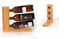 Simple&fancy bamboo wine rack , 2014 new product wine display rack