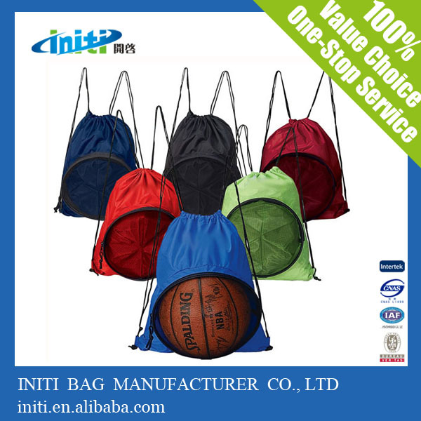 2015 High Quality wholesale polyester ball shopping bag