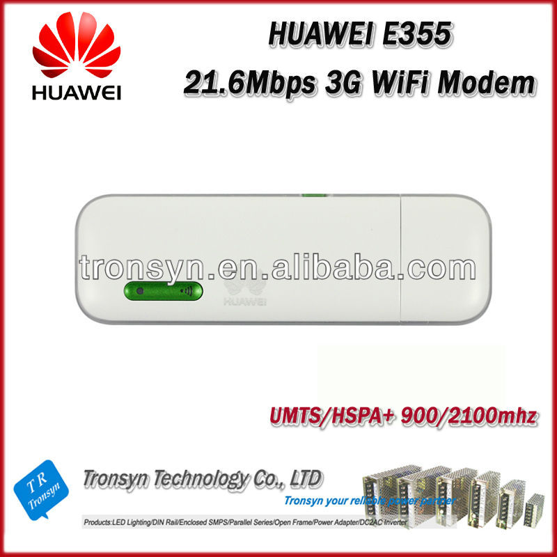 New Original Unlock HSPA 21.6Mbps E355 3G WiFi Adsl Modem Router And WiFi Driver