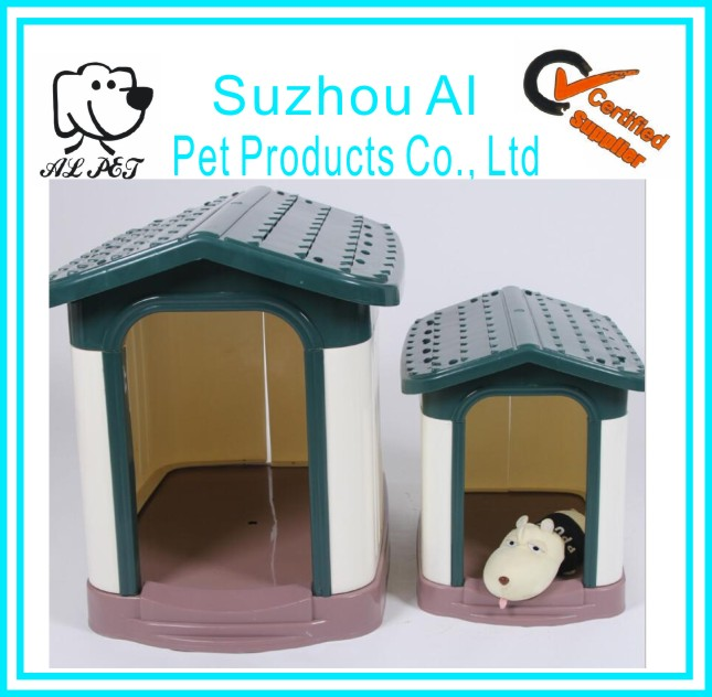 Hot Sale Pets House Wholesale Outdoor Detachable Pet Kennel Dog House Plastic