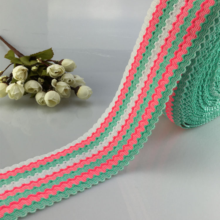 High Quality Fantastic Jacquard Elastic Webbing Cloth Bands