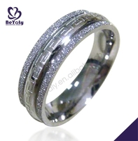 Chic hand made engraved online shopping rings for jewelry