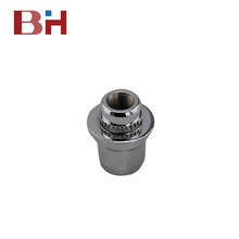 BH factory auto parts mag lug nut 5306 12x1.25 Hex21mm HD18mm L15/37mm Chrome for toyota car wheel nut mag style lug nuts