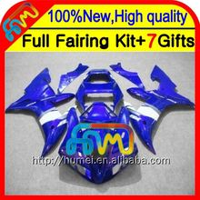BodyFairing Stock blue For YAMAHA YZF-R1 YZF R1 02 03 CL100360 2002 2003 Hot Blue white YZF 1000 YZFR1 YZF1000 02-03 Kitwork