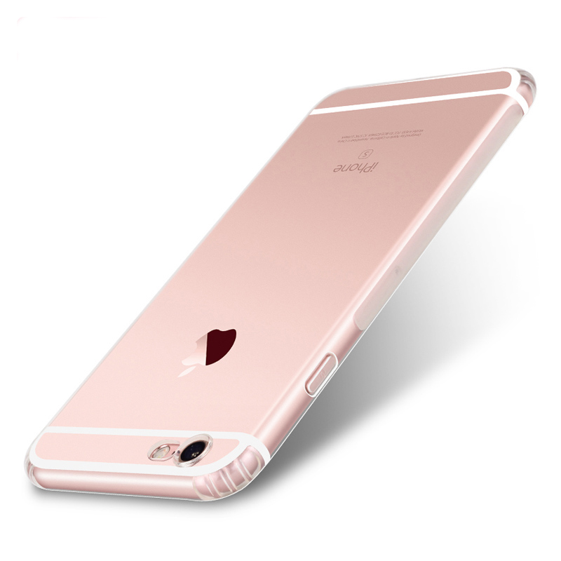 DFIFAN Wholesale Clear TPU Protective Case 5.5 inch Mobile Phone Case For Apple iPhone 6 plus 6s plus Case Cover Casing