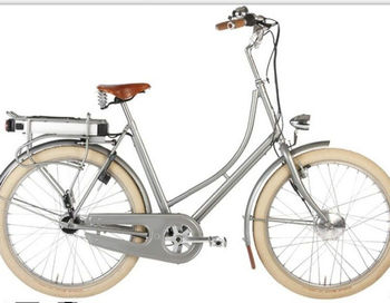 new two wheel electric city bike dutch with battery