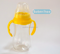 fashion round guangzhou PC baby feeding bottle pc materials