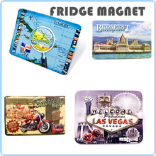3D printing Souvenir Fridge Magnet for decoration Custom souvenir magnets