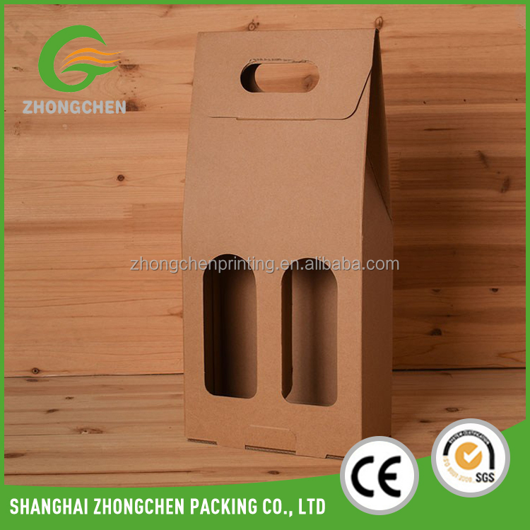 Custom 7-ply carton glasses 6 bottle cardboard wine champagne box for red wine <strong>packing</strong>