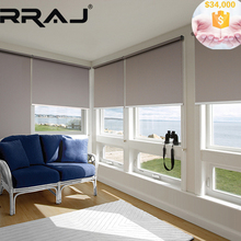 RRAJ Blackout Roller Blinds with Somfy Motor