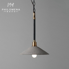 2017 European Concise Morden Cement Cover Single Industrial Pendant Lights