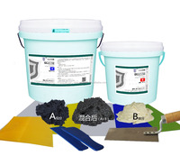 silicon carbide anti corrosion wear resistant protective epoxy paste coating