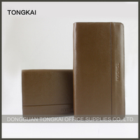Wholesale Fashion Credit Card Genuine Leather Wallet