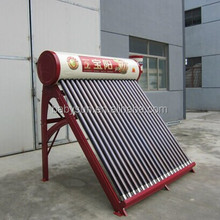 200L unpressurized solar water heater price with 5L side assistant tank