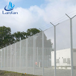 Professional factory galvanized 358 anti climbing security fence price
