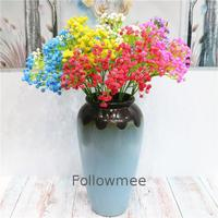 Gypsophila Real Touch Soft Plastic Baby's Breath Cheap Artificial Baby Breath Artificial Baby'S Breath Uk Artificial Leaf