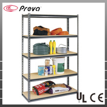 Galvanized Metal Store <strong>Shelf</strong> Boltless Rivet Spare Parts Steel Warehouse Storage Rack System