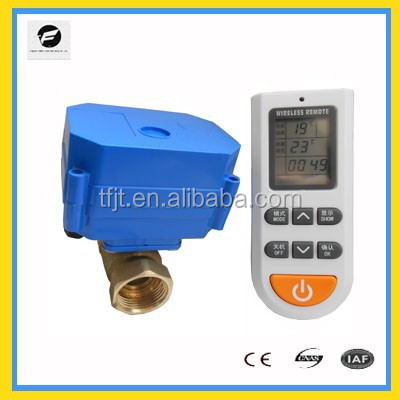 CWX wireless control electric temperature control valve motorized valve for water for water automatic control