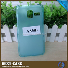 Hot selling jelly tpu case for lenovo a850+ cell phone cover