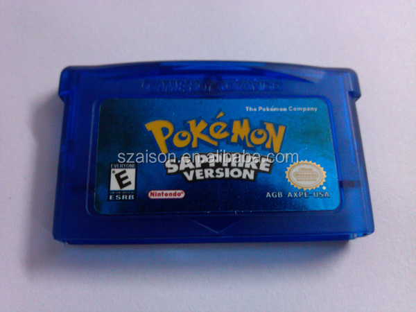 hot sell video game cartride & pokemen games for DS