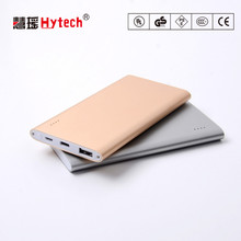 DC218FC 5000mAh slim power bank with Type-C durable power bank for mobile phone