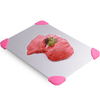 Hot selling thawing plate and quick defrost board and defrosting tray plate for frozen food or meat