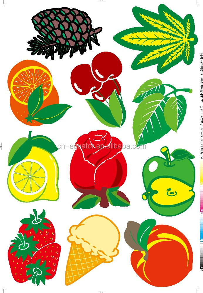 2016 design Best service OEM country national flag paper fruit design air freshener