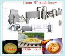 Roasted corn flakes making machine / corn flakes processing line