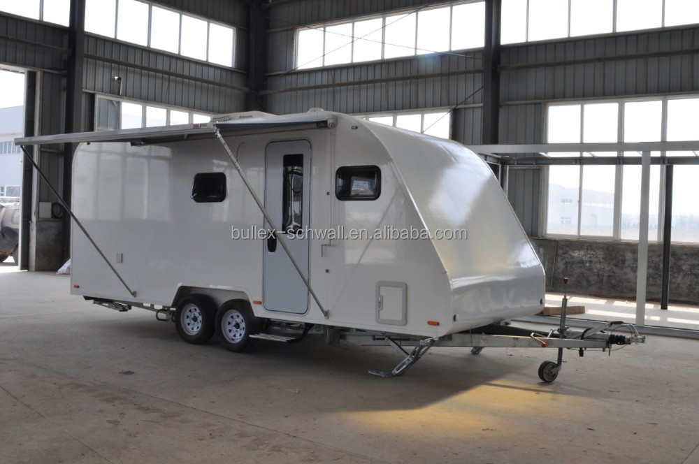 Small size off road travel trailer / Mini Caravan camper from Bullex