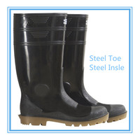steel toe safety boots for high heel