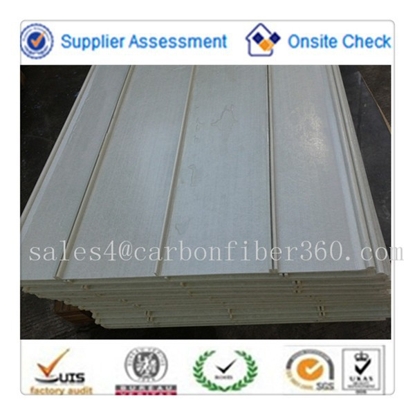 Corrugated Clear Fiberglass Panels Prices Custom Sizes