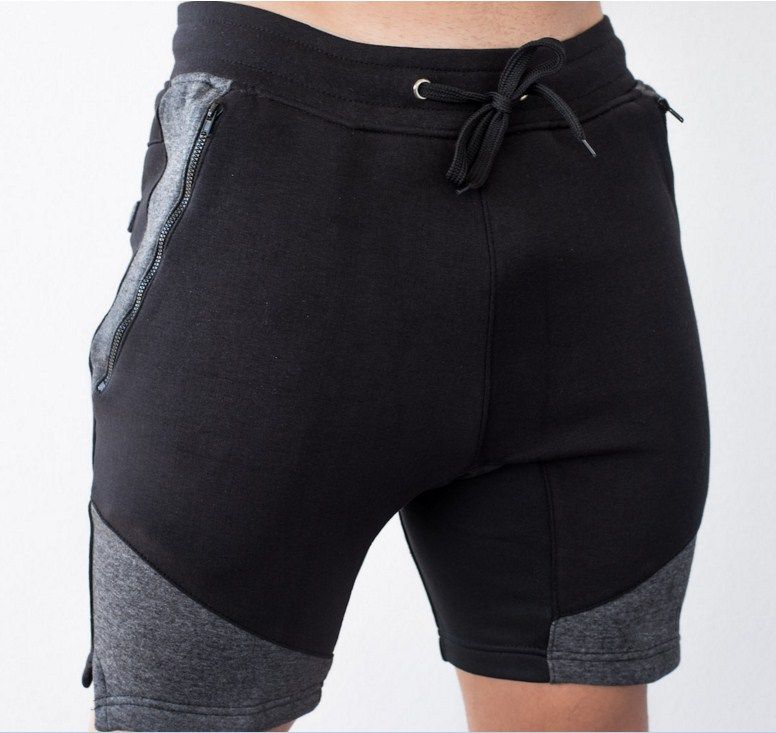 wholesale blank sweat shorts men fit gym joggers running shorts