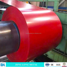 Corrosion-resistant Prepainted GI Steel Coil / PPGI / PPGL Color Coated Galvanized Steel Sheet In Coil Sino Steel
