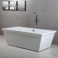 newest fashion design marbella modern free standing bath tub WTM-02001