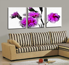 China Wall Art Flower Designs Waterproof Digital Print Photo on Canvas