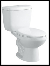 Elegant design two piece toilet economic ceramic toilet LW-1012